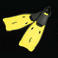 Adult Swimming Flippers Fins Diving Shoes Rubber Monofin Long Snorkeling Foot Diving Fins Comfort Aletas Natacion Aletas Buceo