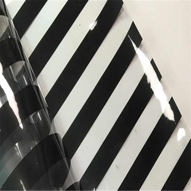 يتشي الحياة A4 الملونة شفافة PVC النسيج والجلود نقطة مخطط طباعة الجلود الاصطناعية DIY الخياطة المواد للحرف اليدوية