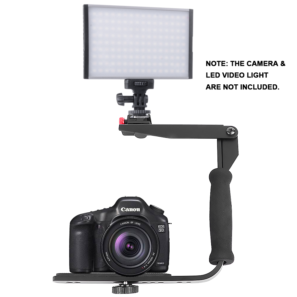 Photography Flash Brackets: Photography Accessories Switching Lever Bracket DV SLR