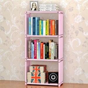 Image 2 - GIANTEX Bookshelf Storage Shelve for books Children book rack Bookcase for home furniture Boekenkast Librero estanteria kitaplik