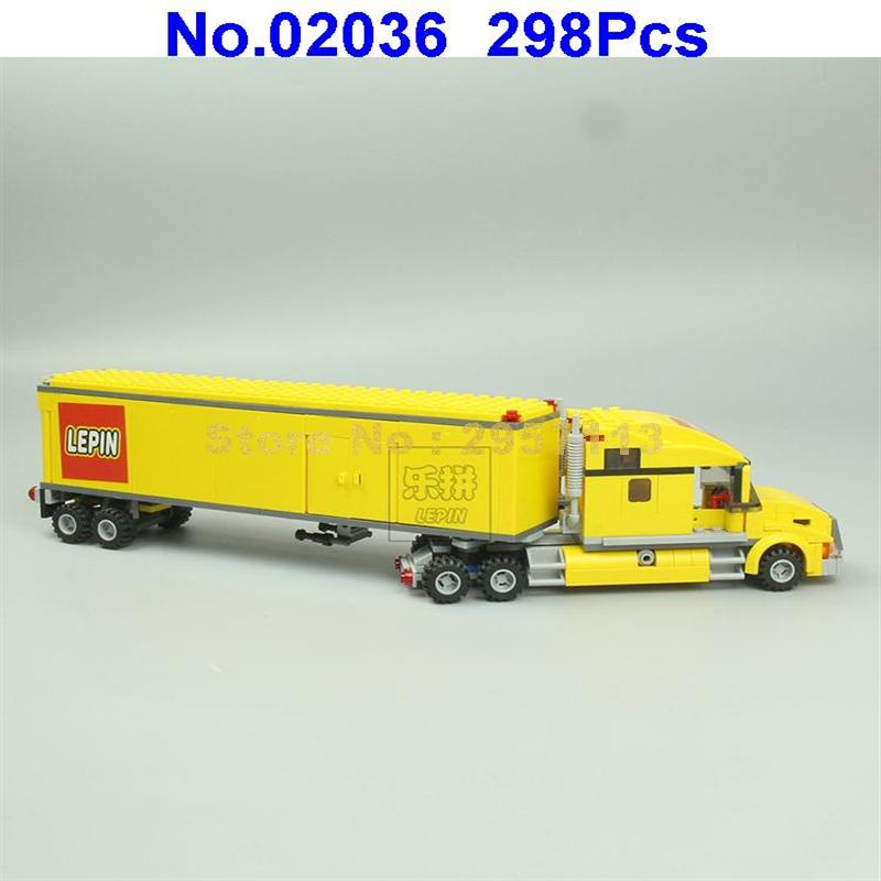 Aliexpress Buy 02036 298pcs City Truck Lepin Building Block