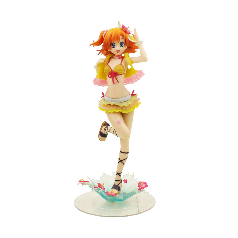 Anime Love Live Figure 18cm Honoka Kousaka PVC Action Figure Collectible Model Toy Dolls Gift for ChildrenAnime Love Live Figure 18cm Honoka Kousaka PVC Action Figure Collectible Model Toy Dolls Gift for Children