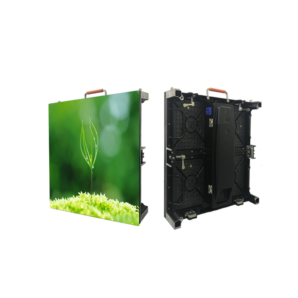 P4.81 Outdoor High Resolution Magnesium Alloy Stage Rental Advertising LED display