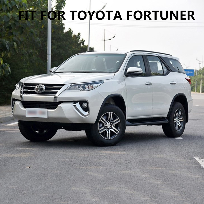 car stickers 2PC stripe grid styling car side door graphic vinyl cool modified accessories decal custom for toyota FORTUNER in Car Stickers from Automobiles Motorcycles