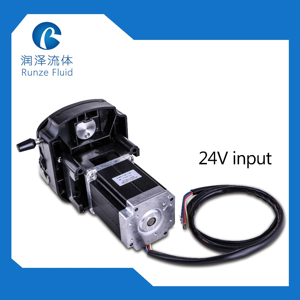 0 1700ml min 24v Peristaltic Pump Arduino Controllable with 57 Stepper Motor in Pumps from Home Improvement