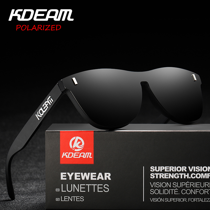 KDEAM Men TR90 Sport Polarized Sunglasses Women Outdoor Driving Glasses New
