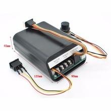 цена на DC 10-55V PWM Motor Speed Controller Digital LED Display 40A High Power CW CCW Reversible Speed Controller 12 24 36V