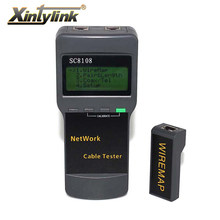 xintylink network cable tester ethernet wiremap rj45 cat5 cat5e cat6 cat7 wire breakpoint length range finder find line(China)