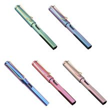 купить Fashion Gradient Fountain Pen Business Student 0.38 mm Extra Fine Nib Calligraphy Office Supply Writing Tool дешево