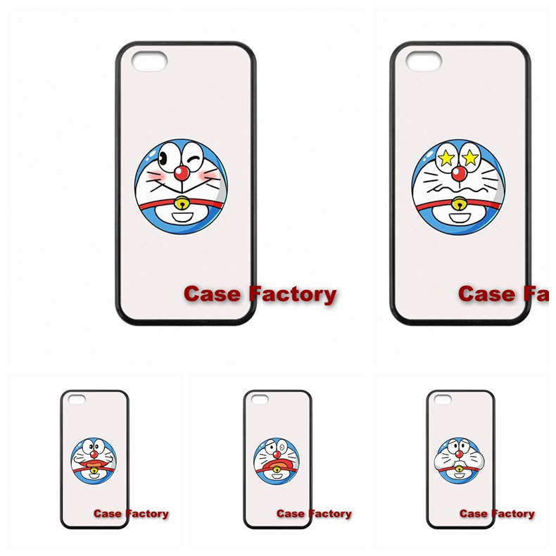 accessories Hard Skin Doraemon lovely Head portrait For Xiaomi Mi3 Mi4 Redmi Note 2 Samsung A3 A5 A8 J2 J3 S3 S4 S5 mini