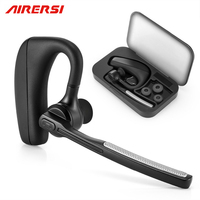 Bluetooth Headset K10 Wireless Earphone Headphones With Mic 9 Hrs Talk Time Hands Free For Driving