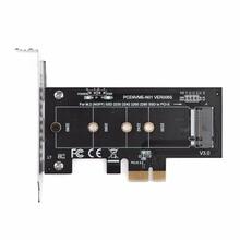 PICE à M2/ M2 à PCIE adaptateur NVMe SSD NGFF Pcie M2 Riser carte adaptateur prise en charge PCI Express 2230 2280 taille m.2 NVME