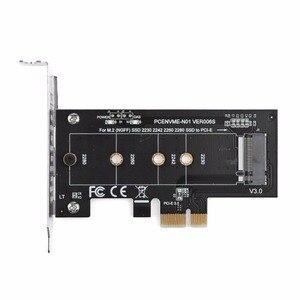 Image 1 - Pice para m2/m2 para pcie adaptador nvme ssd ngff pcie m2 riser cartão adaptador suporte pci express 2230 2280 tamanho m.2 nvme