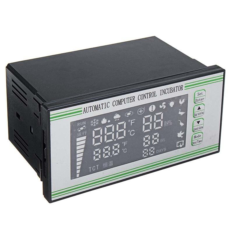 180-240 V contrôleur d'incubateur de température numérique Thermostat thermorégulateur LED contrôleur d'incubation d'incubateur industriel