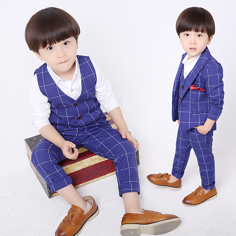 New children suit children small suit boy jacket children's clothing three-piece suit boy Single Breasted boys suits for wedding children s clothing new spring and autumn 2015 children s skirt suit children s three piece children s suits