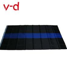 Бесплатная доставка xvggdg 90*150 см Флаг blueline США полицейский