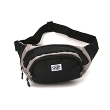2019 New Waterproof Running Belt Bum Waist Pouch Fanny Pack Hiking Camping Sport Zip Bag недорого