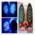 2 шт./лот American DJ Par LED puede excelente iluminar nueva Плоским SlimPar 19x3 W RGB DMX Мыть 3/7 каналес DJ fast & free доставка