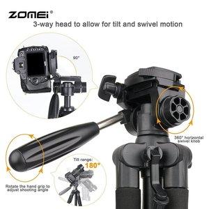 Image 5 - Professional travel Q111 portable aluminum tripod with digital camera SLR accessories tripod stand for digital SLR camera