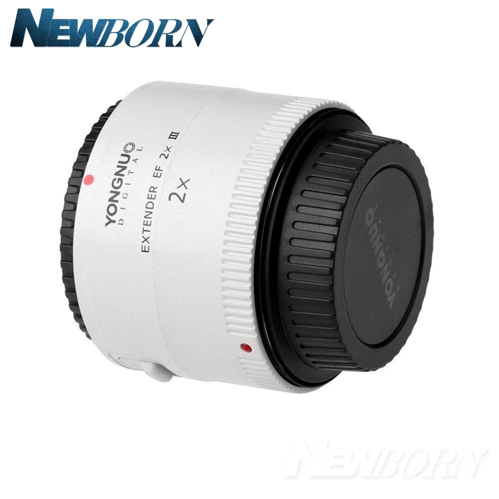Image 3 - Yongnuo YN 2.0X III PRO 2x Teleconverter Extender Auto Focus Mount Lens Camera Lens for Canon EOS EF Lenslens for canonlens for canon eoscamera lens -