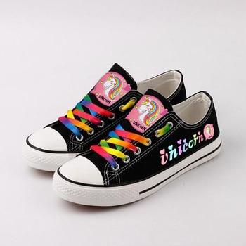 Colorful Unicorn Sneakers