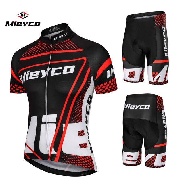 Mieyco 2019 camisa de ciclismo mtb mountain bike roupas dos homens conjunto curto ropa ciclismo roupas roupas ciclismo vestido 1