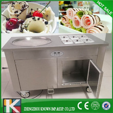 CE Approved thailand fry ice cream machine/cold pan ice pan fry fried ice cream machine