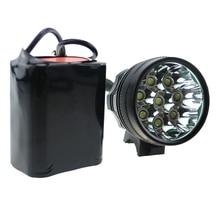 8T6 велоспорт фары 12000 lumens 8 xCREE XM-L T6 из светодиодов велосипед фонарик + 8.4 В 18650 8800 мАч аккумулятор + зарядное устройство
