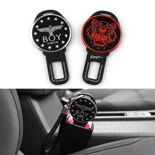 The original VWMK6 MK7 TIGUAN Aluminum Alloy Keychain Key chain key ring KENZO BOY stellers eagie skull belt leather key Lanyard