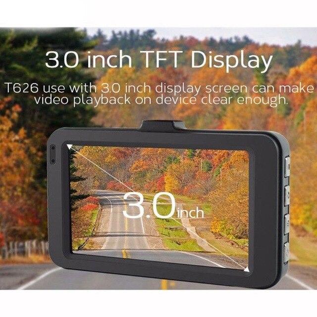 170 широкоугольный видеорегистратор для автомобиля с гравитационным зондированием, 3 дюйма, видеорегистратор для автомобиля, HD 1080 P, мини вид...