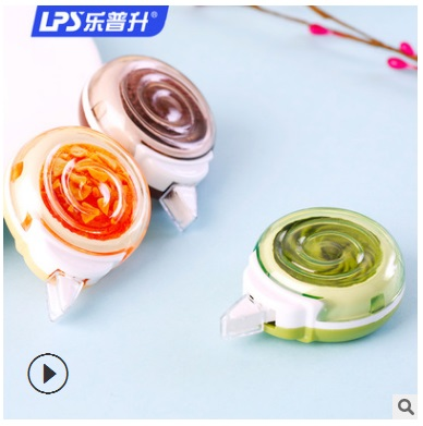 6pcs/lot Stationery Tape Students Cookie Modeling Creative Correction Tape