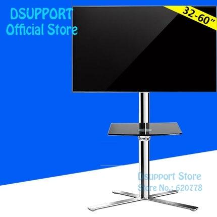Les chariots mobiles de TV de Support Mobile de Support de Support de TV de plancher de Fashional ont adapté pour 40