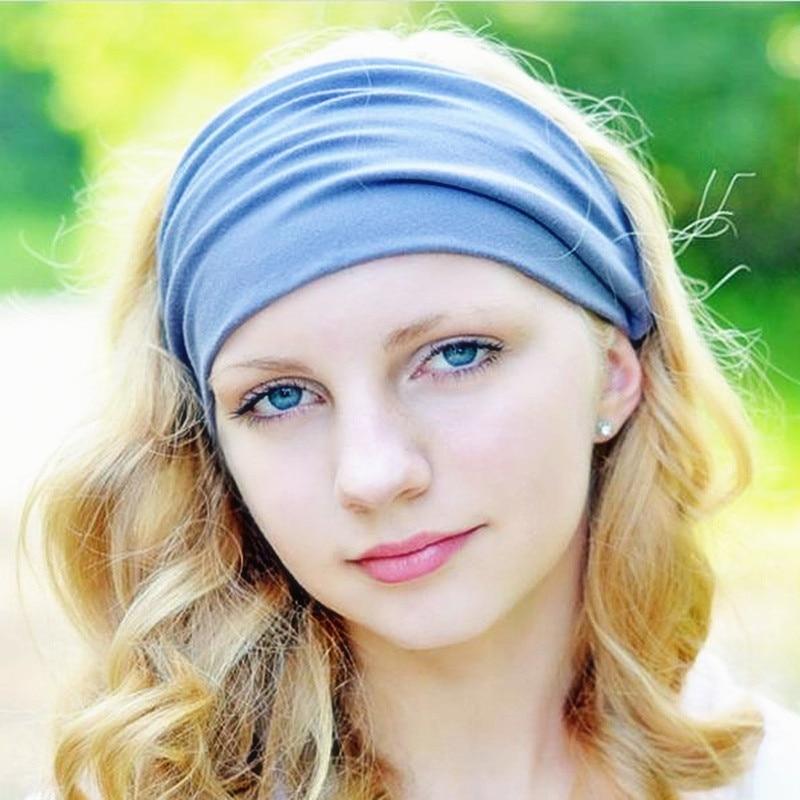 Aliexpress Com Buy 100 Cotton Wide Elastic Headband