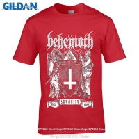 GILDAN Style Mens T ShirtsSummer Tops Tees T Shirt Behemoth The Satanist T Shirt New Official