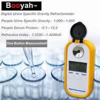 Original Booyah DR-501 Urin SP. G 1,000-1,050 Serum P.0-12g DL Brechungsindex: 1,3330-1.3900nD Medizinische Digitale Refraktometer