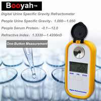 Originale Booyah DR-501 Urine SP. G 1.000-1.050 Siero P.0-12g DL Indice di Rifrazione: 1.3330-1.3900nD Medico Rifrattometro Digitale