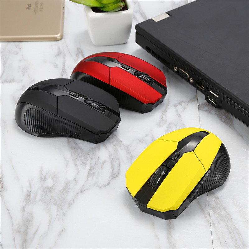 Top Selling Wireless Bluetooth Mouse 3.0 1200DPI 6D cordless PC Optical Adjust Computer Mice Desktop Laptop Notebook
