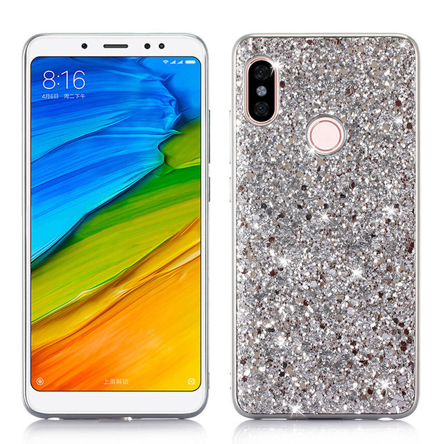 size 40 4ab37 c739e US $2.99 28% OFF|Showkoo Plating Case Shiny Glitter Phone Case For Xiaomi  Redmi Note 5 Pro soft Bling Back Cover For Redmi note 5 Pro TPU capa-in ...