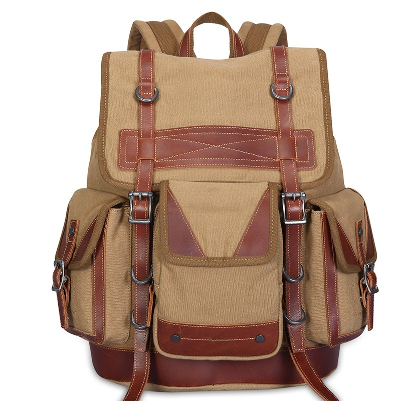 K925 high-end European and American retro canvas Casual man bag Men and Women durable travel backpack 2017 autumn european and american fashion women s handbags high end atmosphere banquet tote bag dhl speedy shipping