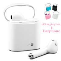 I7 Tws Charging Box Mini Wireless Bluetooth Earphone With Mic In Ear Buds Bloototh Headset For