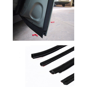 Image 5 - 5M Car Sound O Pillar Type Rubber Seal Strip Dust Proof Anti  Noise Sealing Insulation Strips Trim With Other Door Car interior