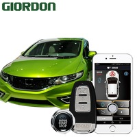 Jade 2012 car accessories Keyless Entry Comfort System PKE Phone APP Remote Start Car Engine Car Alarm Push 913