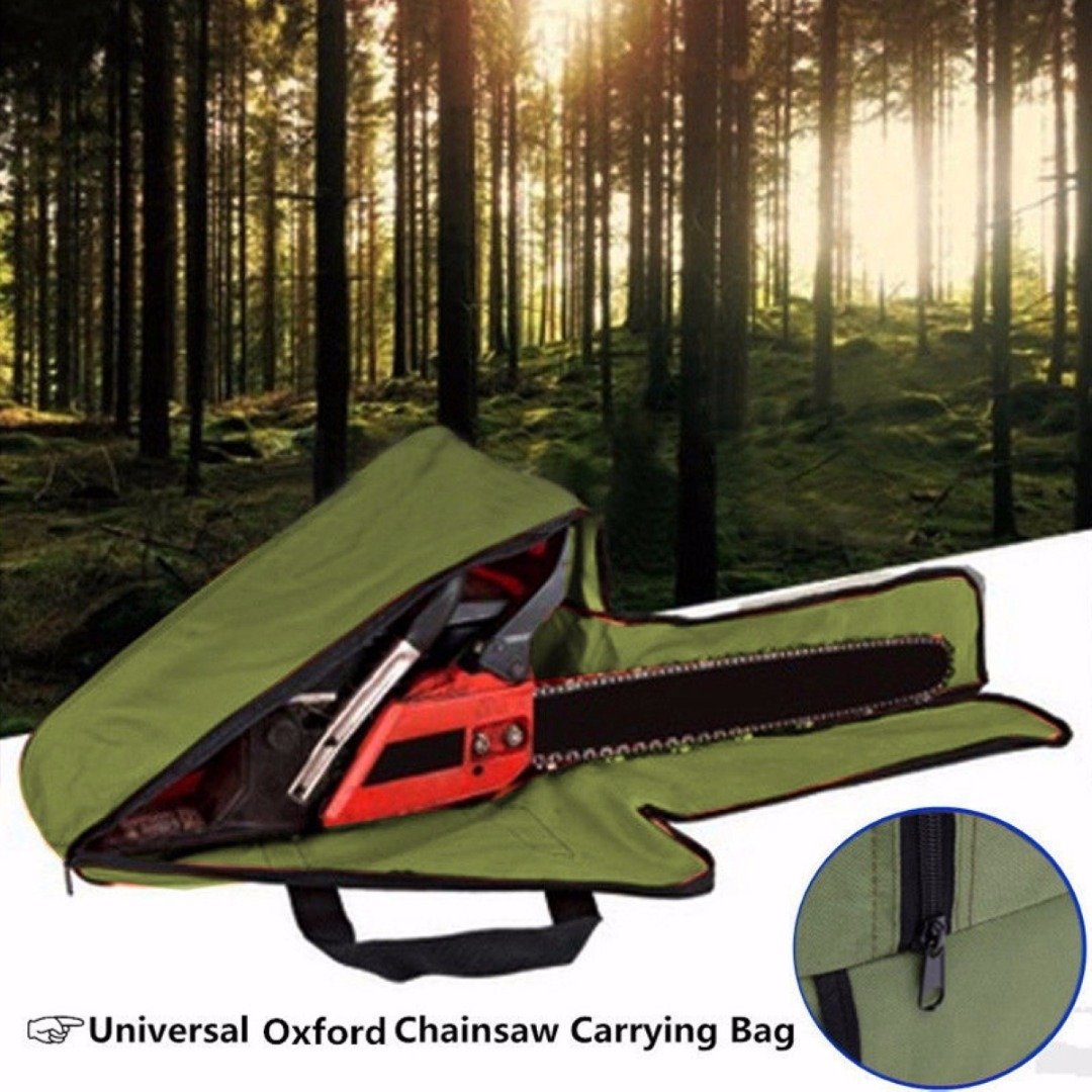 Durable 20'' Chain Saw Chainsaw Carrying Bag Box Protective Holdall Holder Case Mayitr Chainsaw Parts spark storage bag portable carrying case storage box for spark drone accessories can put remote control battery and other parts