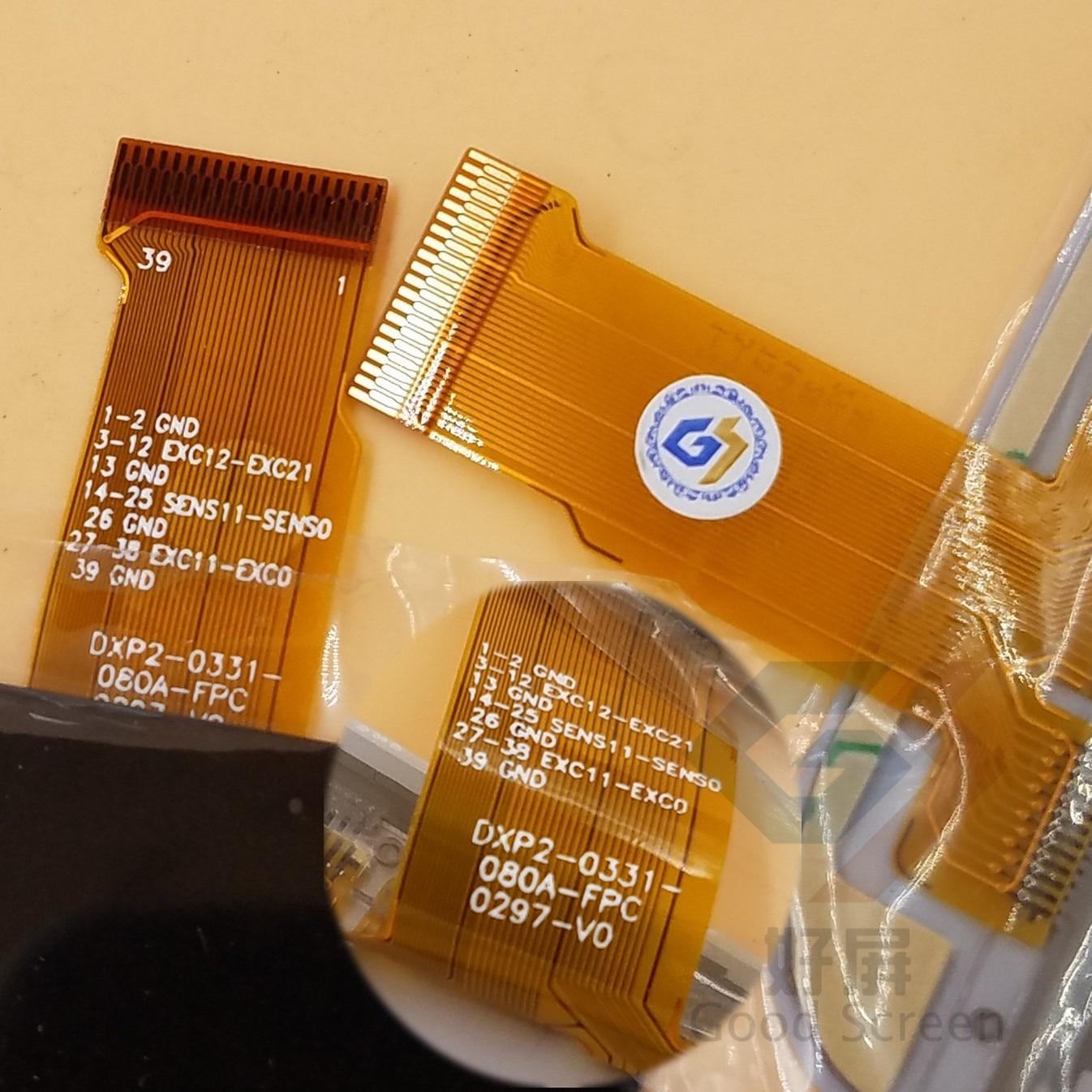 ORIGINAL NEW 8INCH DXP2-0331-080A-FPC DXP2-0316-080B TOUCH SCREEN DIGITIZER SENSOR PANEL REPAIRMENT Oysters T84ERI 3G