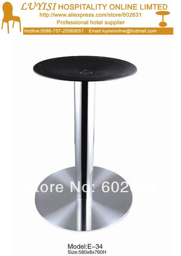 Stainless steel bar table base недорго, оригинальная цена