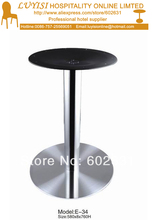 Stainless steel  table base,good for indoor and outdoor,kd packing 1pc/carton,fast delivery stainless steel hotsale quality cocktail table base only