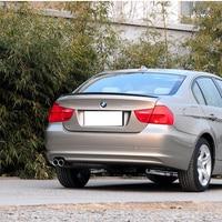 2005 2006 2007 2008 2009 2010 2011 E90 ABS Plastic M3 Style Unpainted Primer Rear Wing Lip Spoiler for BMW E90 3 Series