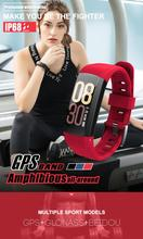 2019 3D Gyroscope Smart Bracelet Sport Cycling GPS Watch with Heart Rate Altitude Meter Speed Measurement Smartwatch for Woman стоимость
