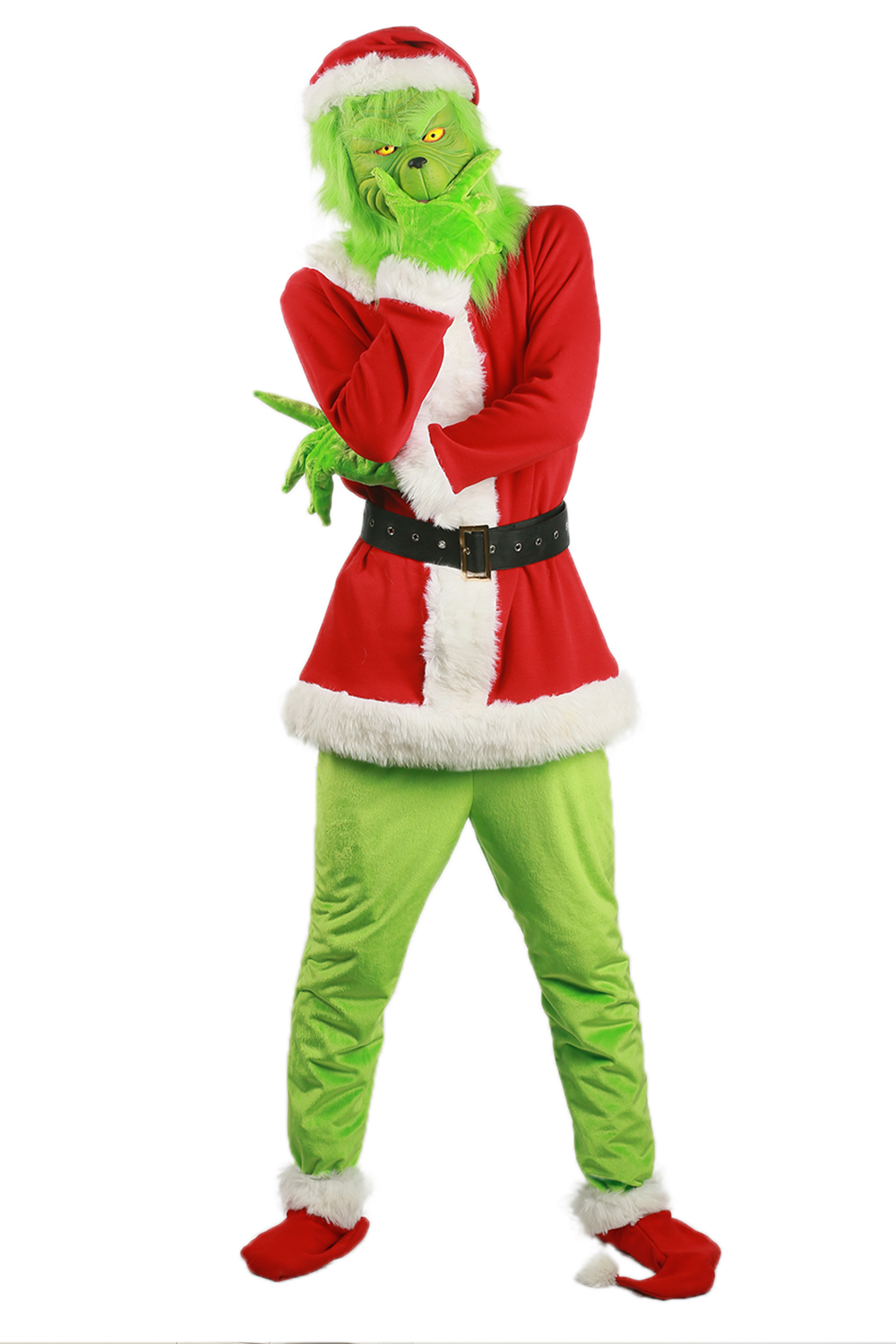 Grinch costume movie how the stole christmas