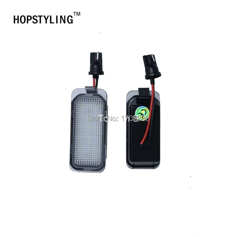 Hopstyling 2pcs / lot LED Številka registrske tablice Svetilka za - Avtomobilske luči - Fotografija 2